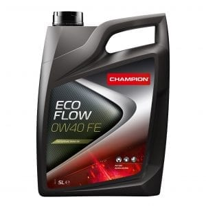 CHAMPION Eco Flow 0W40 FE Engine Oil 5L