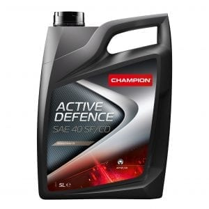 CHAMPION Active Defence SAE 40 SF/CD Engine Oil 5L