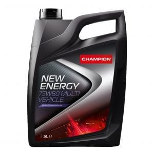 CHAMPION New Energy 75W80 Multi Vehicle Transmission Oil 5L
