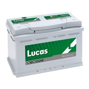 LUCAS DIN75L Battery