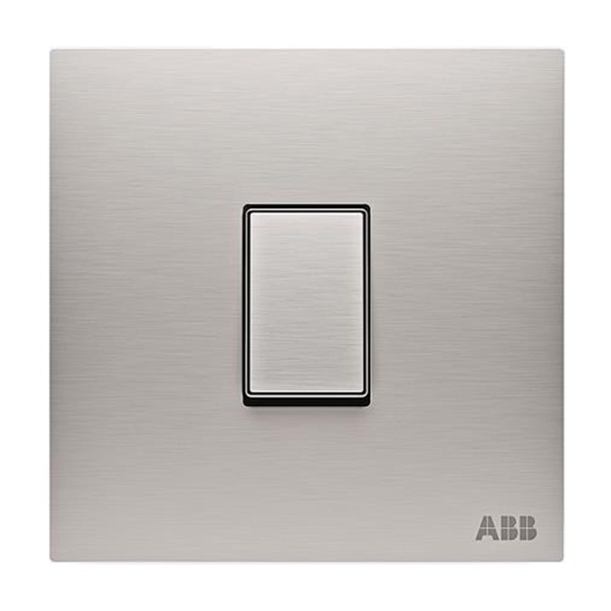 Abb Push-button 1-gang 1-way Sp 10a
